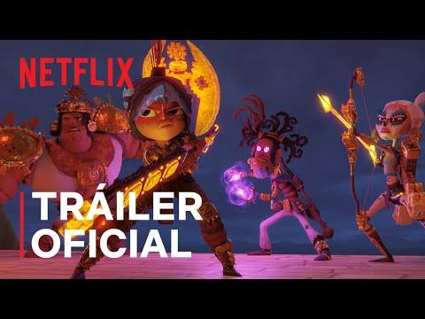 Maya y los tres   Tráiler oficial   Netflix