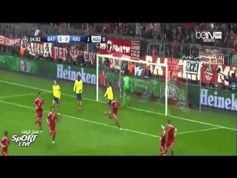 BAYERN MUNCHEN VS ARSENAL FC 1-1 ( 2014 )