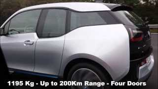 New BMW i3 (Video Clips From Public Road Test Drive)