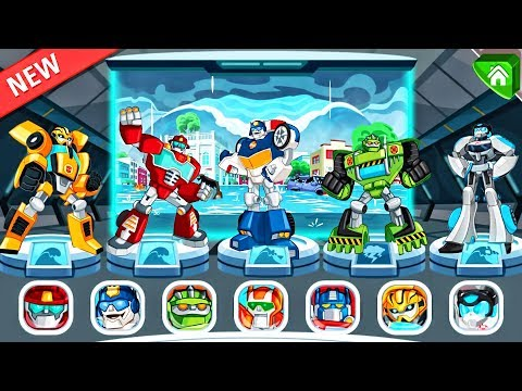 Thumbnail: Transformers Rescue Bots: Disaster Dash Hero Run | Rescue Bots Special Missions! By Budge #1