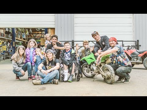 Travis Pastrana Gets to Spend a Day With One Special Guy