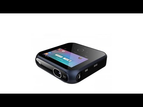 Zte spro 2 smart android projector ces hands on doovi for Miroir dlp pico projector