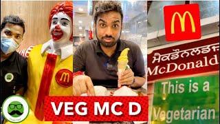World's Only Veg McDonald's | Veggie Paaji #shorts