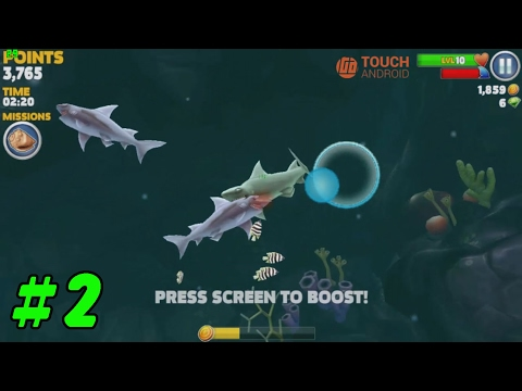 Hungry Shark Evolution Android/iOS Gameplay #2