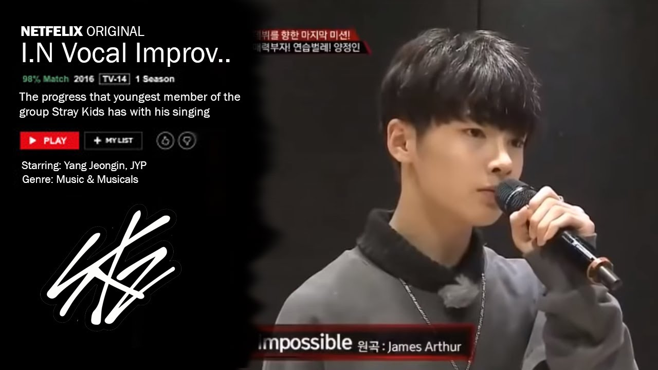 Jeongin Stray Kids Vocal Improvement | netfelix