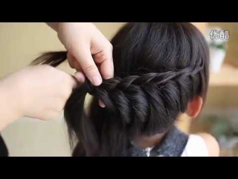 Hair Tutorial- Princess Braided Updo and Cute BunYouTube