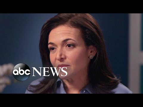 How Sheryl Sandberg says she dealt with her grief after her husband's death