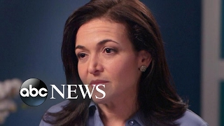How Sheryl Sandberg says she dealt with her grief after her husband's death