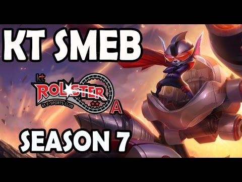 KT Smeb plays RUMBLE TOP vs A Korean CHALLENGER KENNEN
