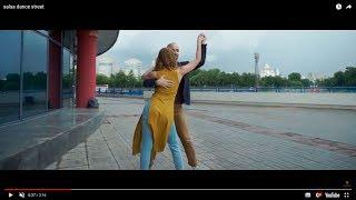 Salsa dance street - Salsa dance performance