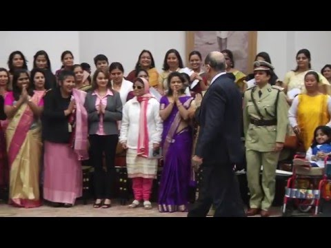 President  hosting a reception for 100 women Achievers of India - 22-01-2016