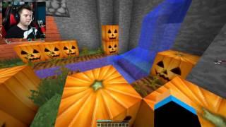 Minecraft Spiral Parkour #02 - WIĘCEJ O AKCJI HUNTERA!