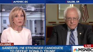 Bernie Sanders SHUTS DOWN Andrea Mitchell's Pro-Clinton Propaganda Like a BOSS!