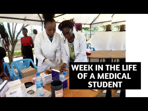 WEEK IN THE LIFE OF A MEDICAL STUDENT /UNIVERSITY OF NAIROBI// how i balance YouTube with school
