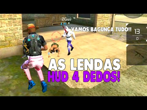 AS LENDAS TA DE VOLTA!! HIGHLIGHT HUD 4 DEDOS FT. ZGUI