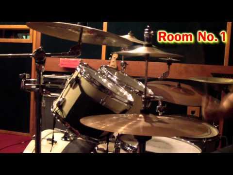 ทดสอบเสียงกลอง ห้องซ้อม E.Q.Studio