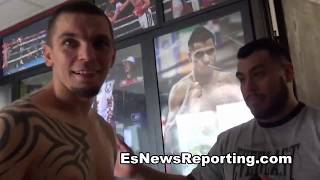 robert garcia on improving eye-hand coordination -- EsNews boxing