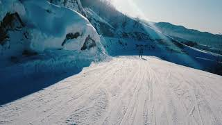 Горные лыжи Ой карагай Лесная сказка