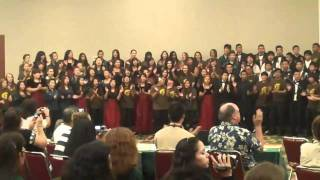 Hawaii Choral Festival Mass Choir: Take Me To The Water by Rollow Dilworth