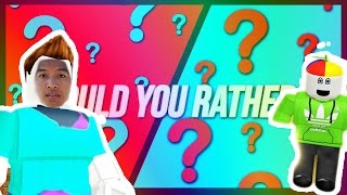 Would You Rather?! | Roblox edition!