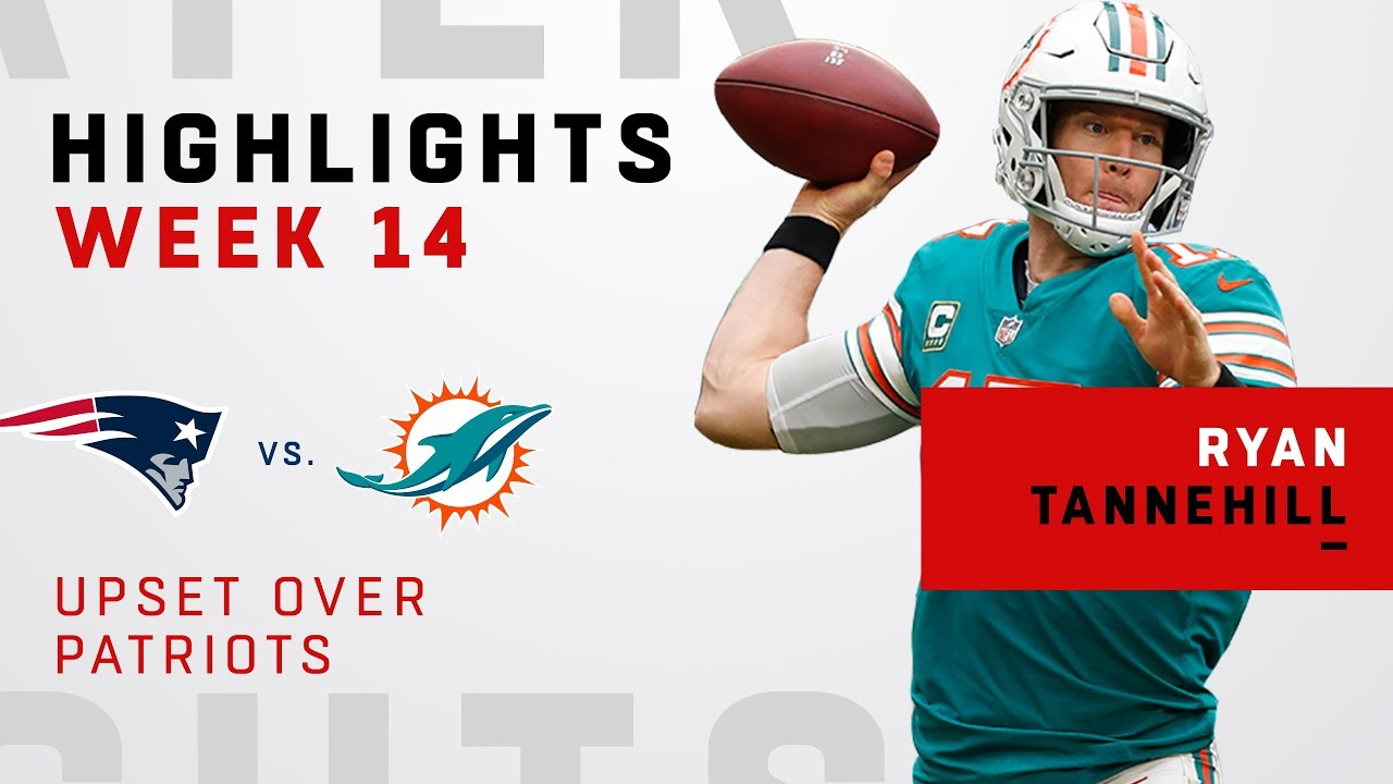 Ryan Tannehill Highlights in Upset Over Patriots - YouTube 16520acc6