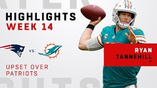 Ryan Tannehill Highlights in Upset Over Patriots