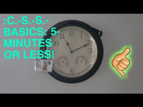 :VIDEO-CLAIM: C.-S.-S.-CONSTRUCTION IS: 5-MINUTES'-LENGTH OR LESS :VIDEO-CLOSURE.