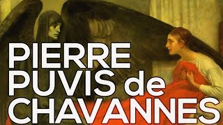 Pierre Puvis de Chavannes: A collection of 123 works (HD)