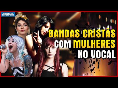 BANDAS GOSPEL COM VOCALISTAS FEMININAS