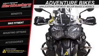Barkbusters Motorcycle Handguards for Adventure, Dual-Sport, Sportbikes, and Cruisers