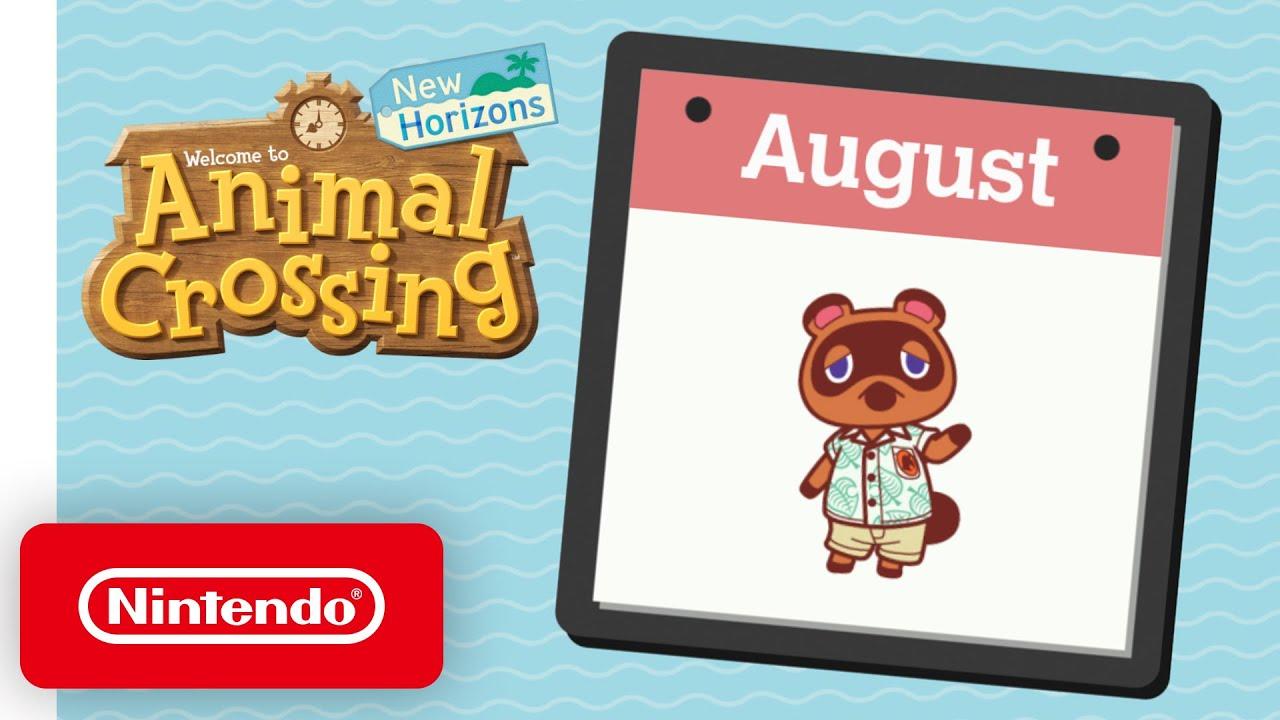 Εξερευνώντας τον Αύγουστο στο Animal Crossing: New Horizons