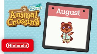 Animal Crossing: New Horizons - Exploring August - Nintendo Switch