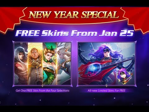 MLBB : SPRING FESTIVAL  EVENT! FREE SKINS +1000 GIFTS GIVEAWAY SPECIAL REDEMPTION CODE! 😱