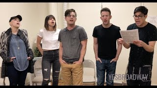 In Rehearsal: The Jonathan Larson Project