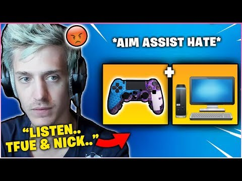 Ninja *FINALLY* Responded To All Hate He Has Been Getting About Removing *AIM ASSIST!