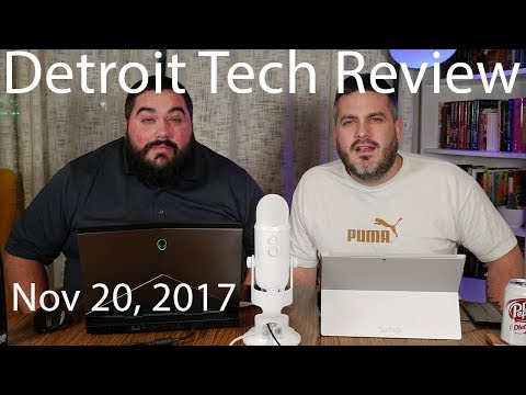 Detroit Tech Review 11/20/17 - Tesla Semi, Amazon Lord of the Rings Show, EA BAD!