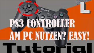 PS3 Controller mit Pc verbinden | Ohne MotioninJoy [Tutorial / Deutsch / English in Description]