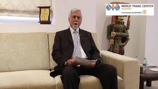 Capt. Somesh batra, vice Chairman, MVRIDC, (World Trade Center Mumbai)