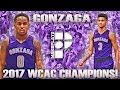 Chris Lykes and Gonzaga Defeats Paul VI in the 2017 WCAC Championship!