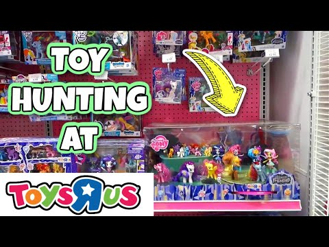 TOY HUNTING At TOYS R US! My Little Pony, Baby Alive, LOL Surprise Dolls And Gift Ems Unboxing  TRU