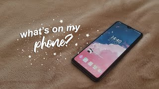 What's on My Phone? ☆