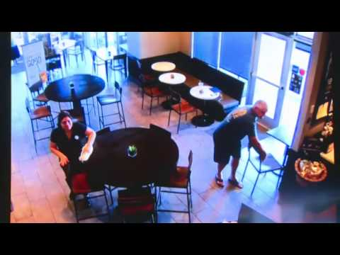 Surveillance video shows robbery attempt at Fresno Starbucks