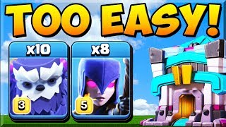 *NEW* Yeti Witch Attack SURPRISINGLY STRONG at TH13! Town Hall 13 Attack Strategy 2020