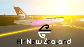 [ROBLOX] Air New Zealand! A320 Flug!