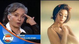 """El rostro de Ana Martìn sufrió lesiones al grabar """"El Pecado de Oyuki"""""""