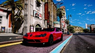 GTA 6 Graphics - REDUX - Mercedes SLR 722s Gameplay! Ultra Realistic Graphic MOD PC - 1080p