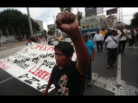 Despite Facing Threats of Force, Mexican Teachers Continue to Strike