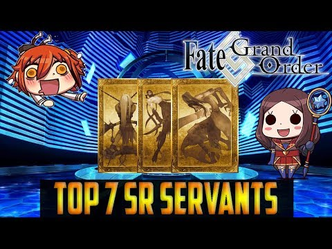 Fate Grand Order NA: Top 7 SR Servants YOU Should Pick With