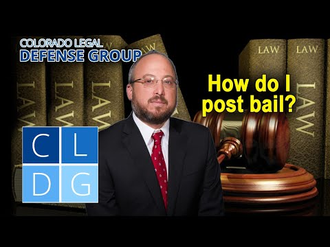 How to post bail in Colorado – 5 steps