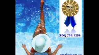 Inground Swimming Pool Building Construction Planning (800) 766-5259